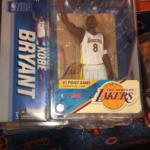 Kobe Bryant Multiple Series  NBA McFarlanes